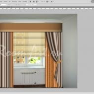 Компьютерный дизайн штор