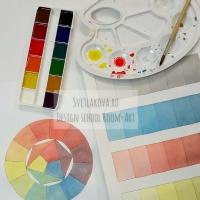 Цветовой круг и цветоведение