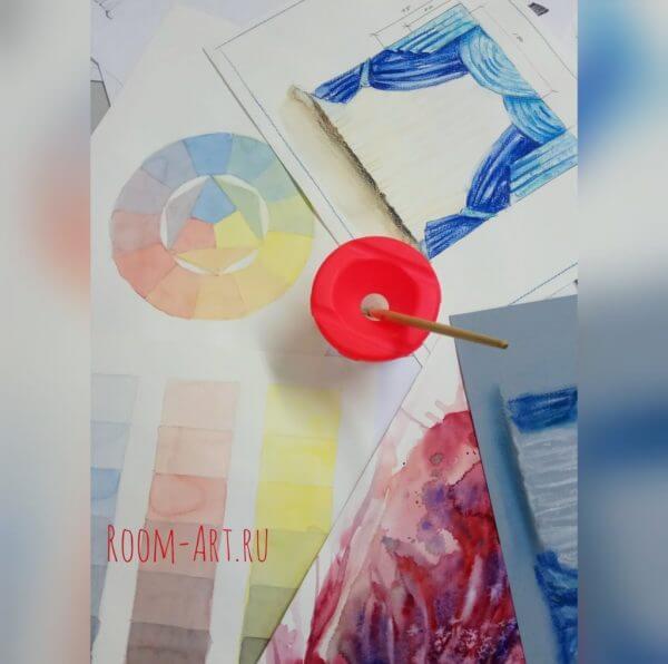 Дизайнер по шторам. Ткань и цвет в интерьере