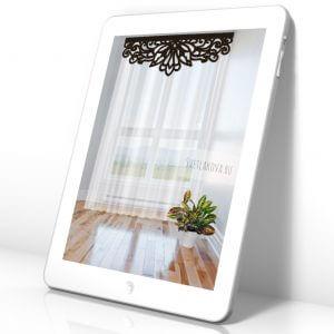 Мобильные эскизы штор